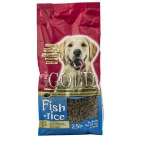 Nero Gold Fish & rice 2,5 kg