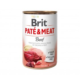 BRIT PATE & MEAT BEEF 400g