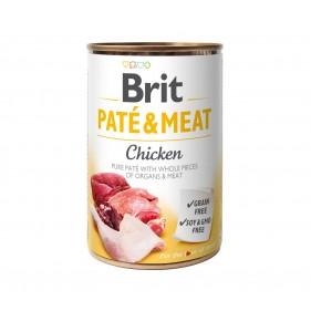 BRIT PATE & MEAT CHICKEN 400g