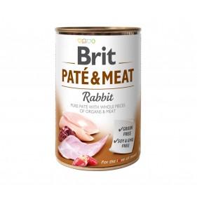 BRIT PATE & MEAT RABBIT 400g