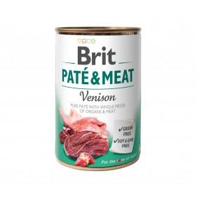 BRIT PATE & MEAT VENISON 400g